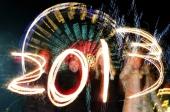 Новогодний фейерверк в Лондоне / London New Years Fireworks