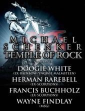 Michael Schenker - Temple Of Rock - Live In Europe (Tilburg)