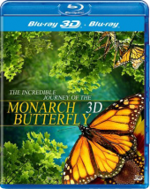 Полет бабочки 3D / Flight of the Monarch Butterfly 3D