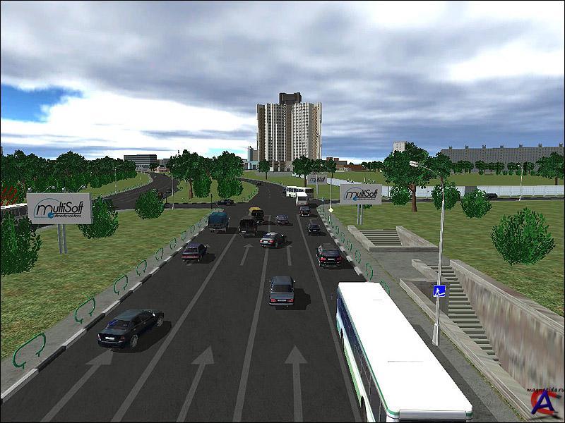 Название: 3D-инструктор: Вождение по Москве v1.4 Год выпуска: 2007 Жанр: го