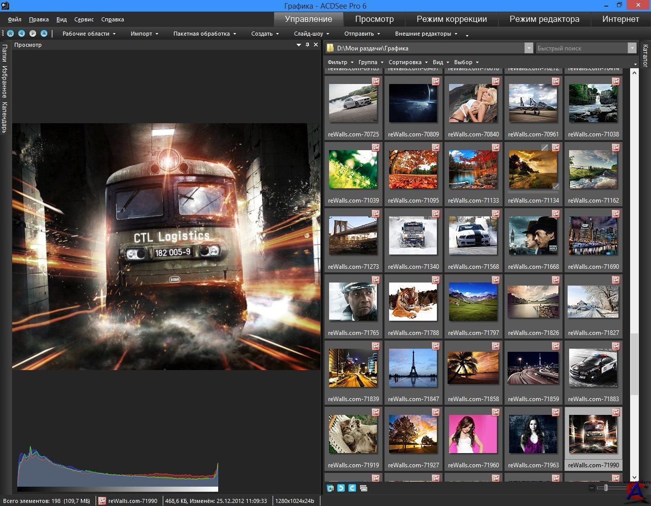 Скачать бесплатно ACDSee Pro (2013) PC.